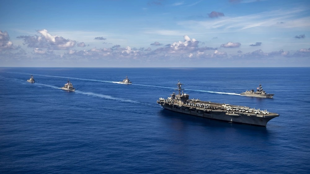 Japan Maritime Self-Defense Force and US Carrier Strike Group 1 Complete Bilateral Exercise