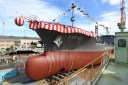 Japan Maritime Self Defense Force Launches New Tanker Vessel YOT-01