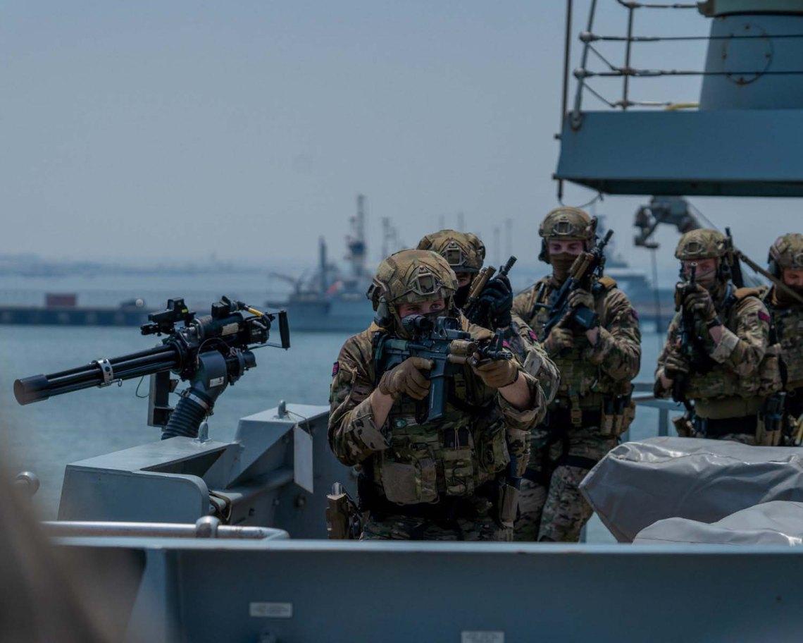 Royal Marines from 42 Commando