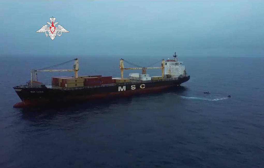 Russian Defense Ministry Posts Video of Marines Freeing Ship from Pirates in Gulf of Guinea
