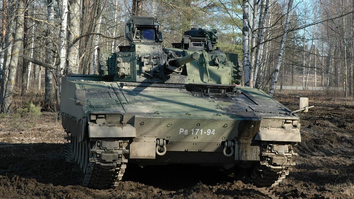 Finnish Army CV9030 Infantry Fighting Vehicles