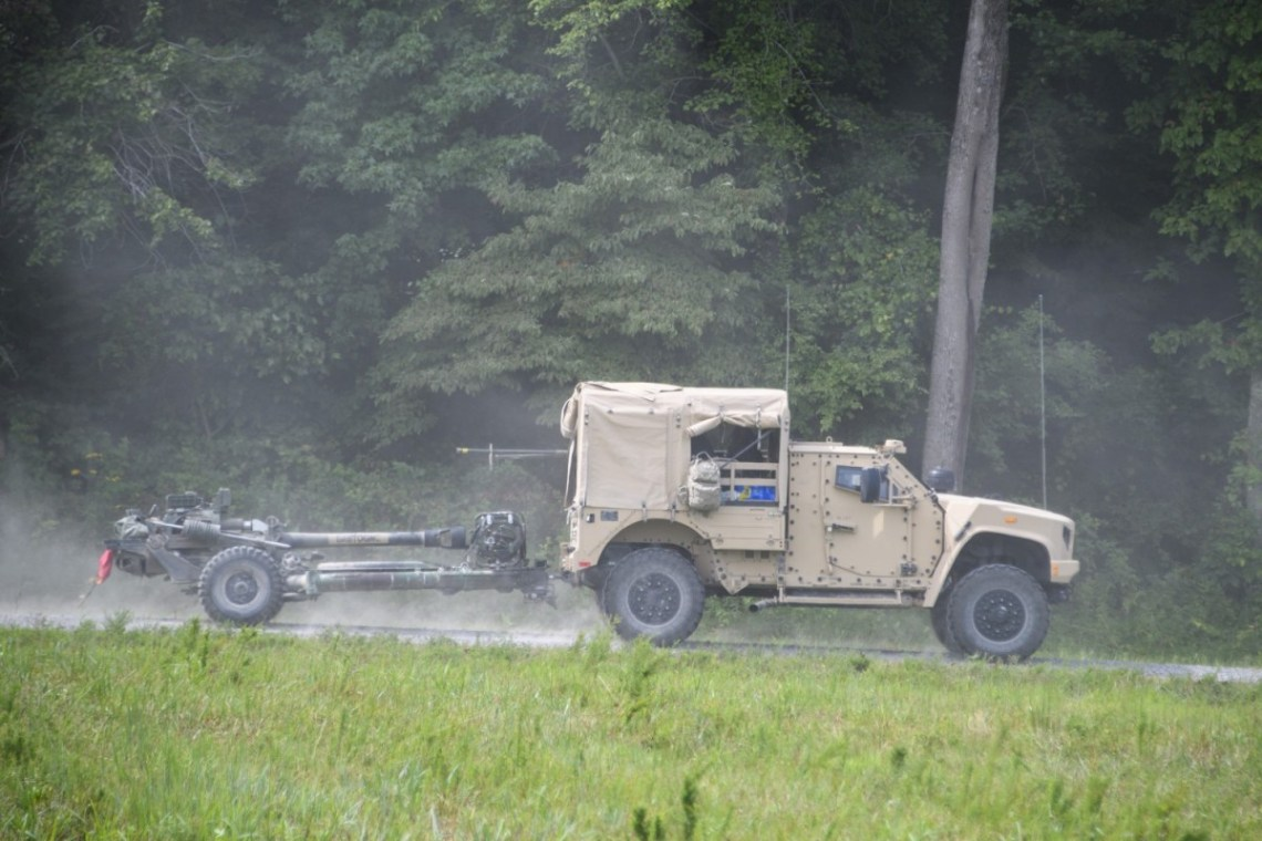 US Army 101st Airborne Field Artillery Conduct JLTV Fires Integration Operational Test