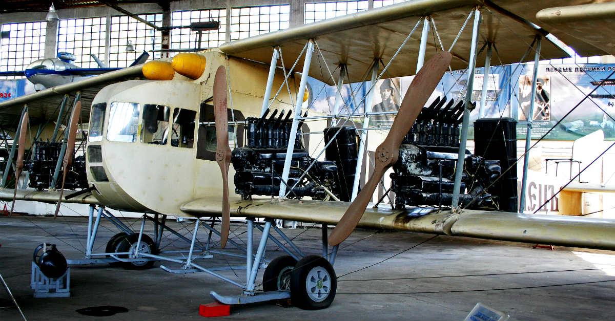 Sikorsky Ilya Muromets world war i aircraft