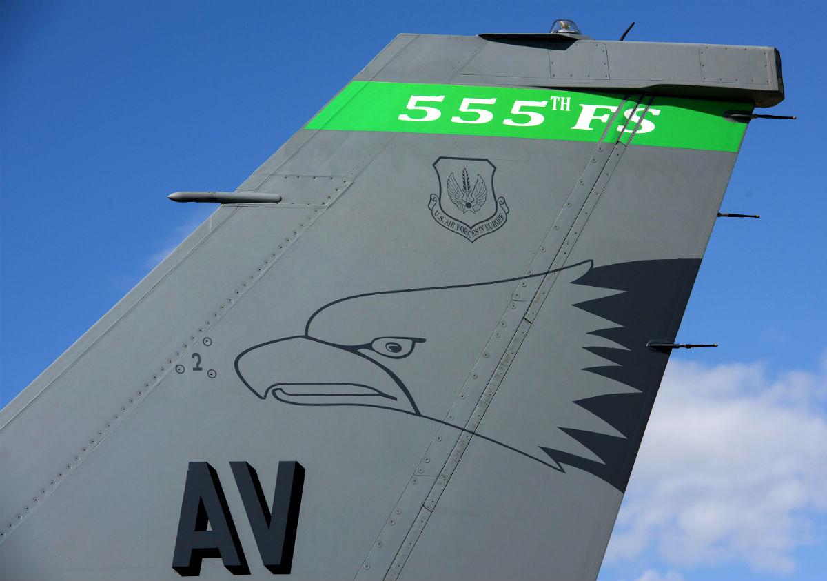 Italian F-16 Fighting Falcon Tail