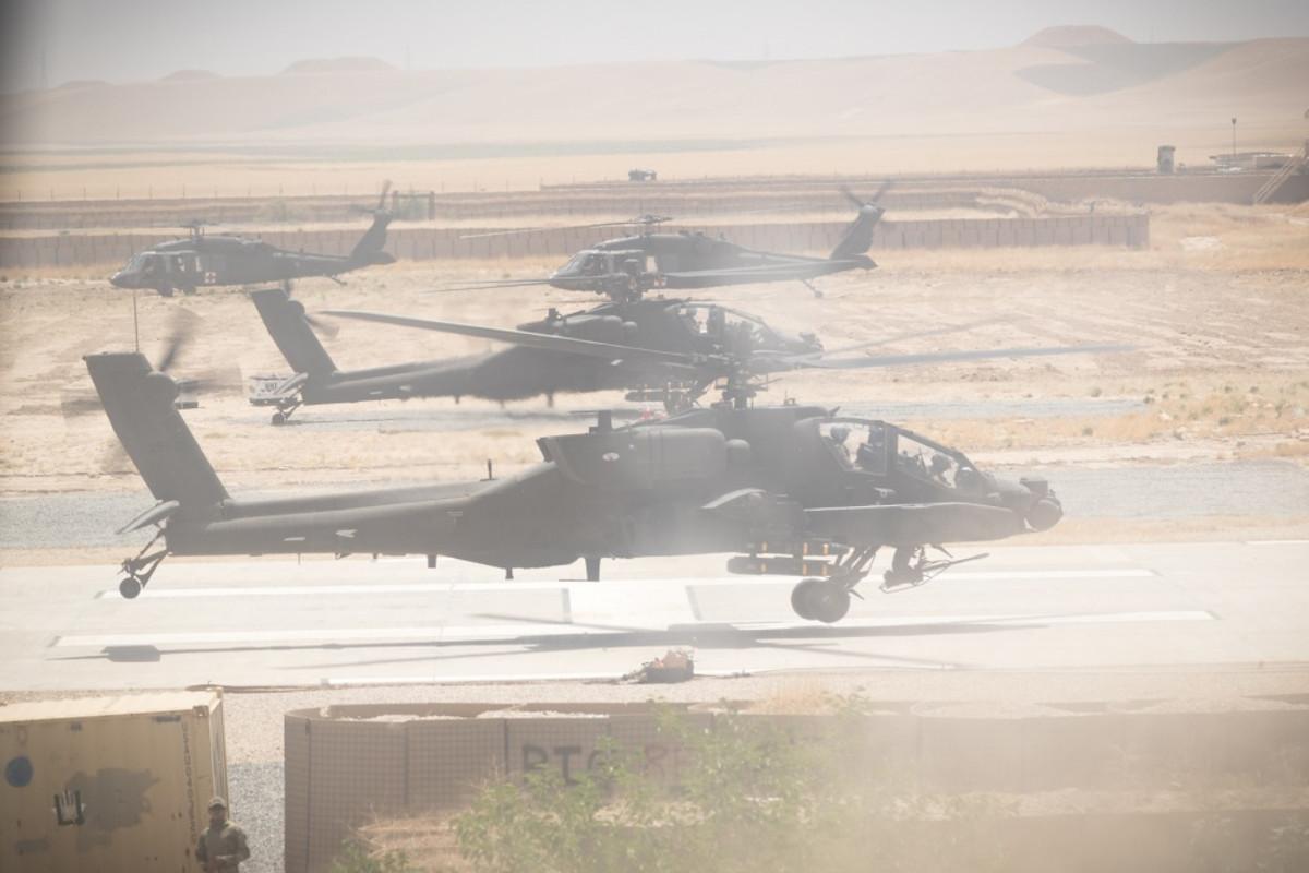 Apaches in Kunduz