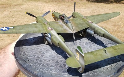 "FINISHED – Tamiya's ""White Box"" 1/48 P-38F/G – First Thoughts, Part 4, The finale."