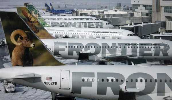 Two Free Roundtrip Tickets from Frontier Airlines – 40,000 Mile Bonus for $500 of Spending