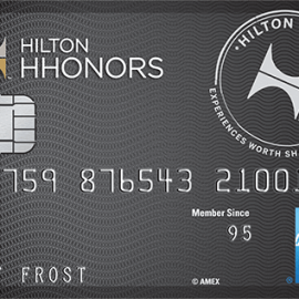 No Annual Fee Hilton HHonors Card American Express SCRA