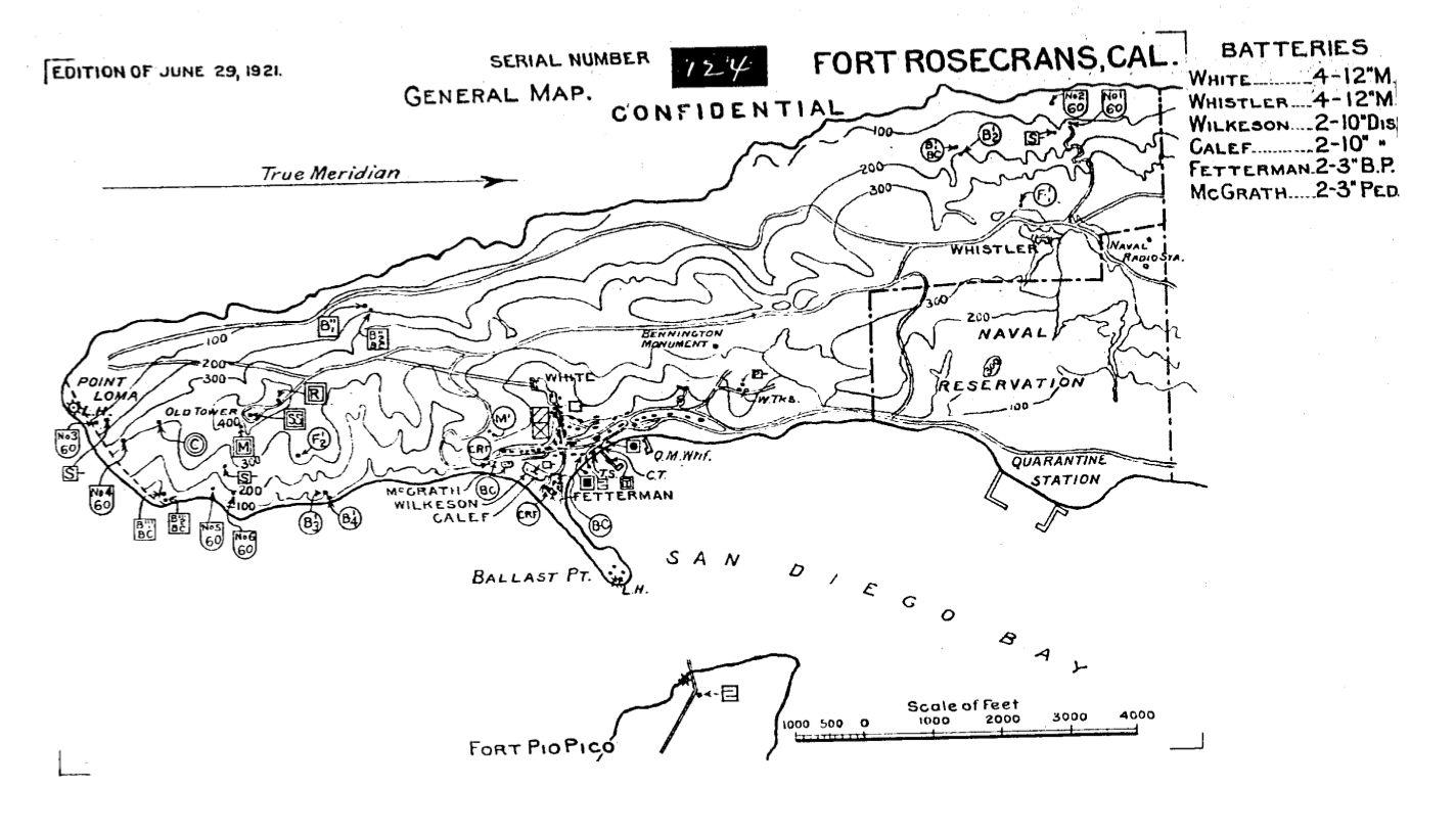 Historic California Posts Fort Rosecrans