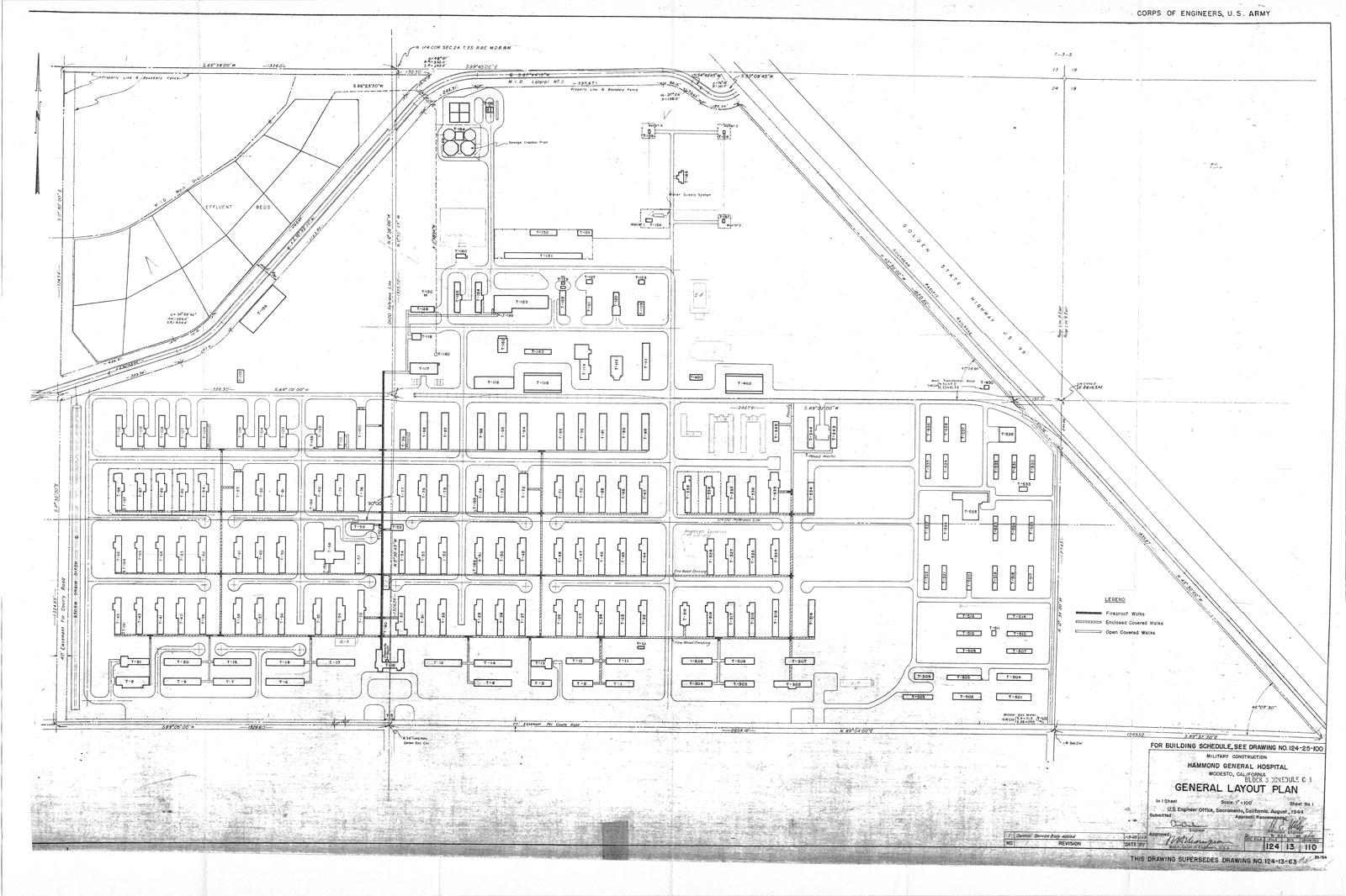 Historic California Posts Hammond General Hospital