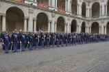 Schieramento degli allievi ufficiali
