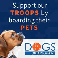 Dogs on Deployment supports troops