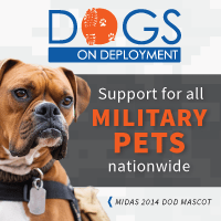 Dogs on Deployment supports military pets