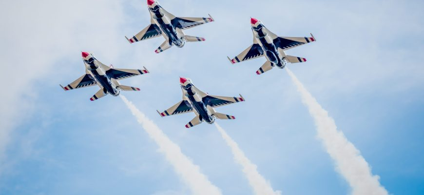 Take Flight with 2020 Military Air Show Schedule