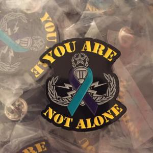 EOD Master You Are Not Alone Pin
