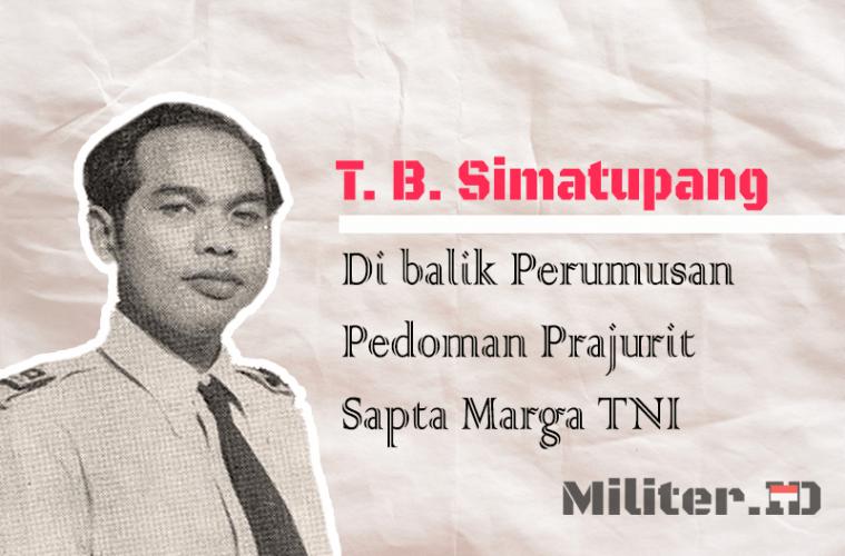 TB Simatupang Di Balik Perumusan Pedoman Prajurit Sapta Marga TNI Angkatan Perang