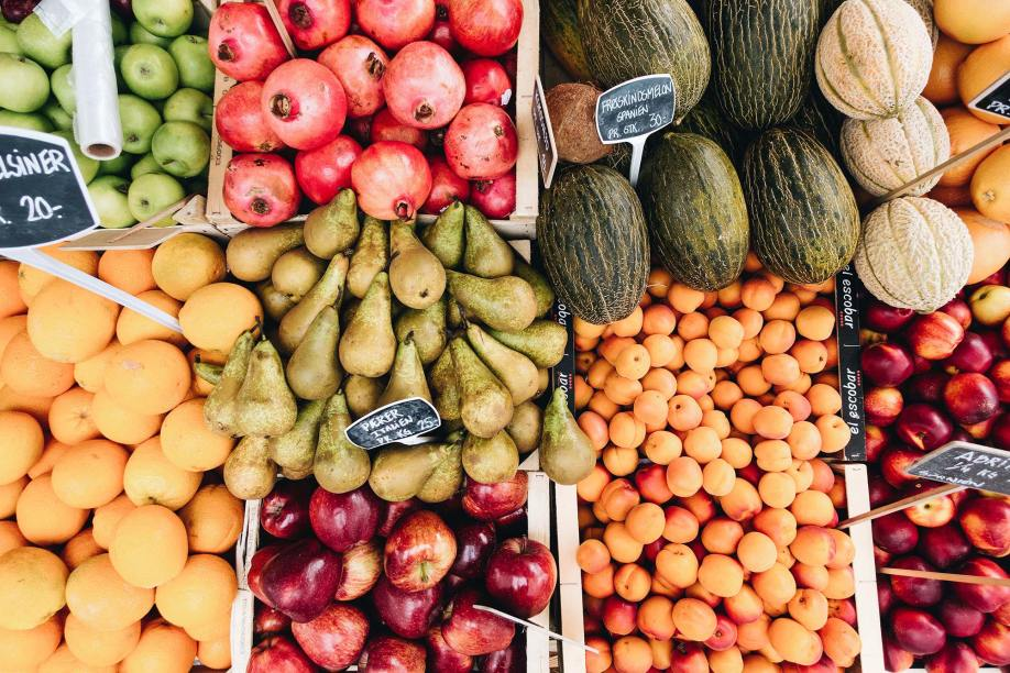 Choose fruit instead of a fatty fast-food snack.