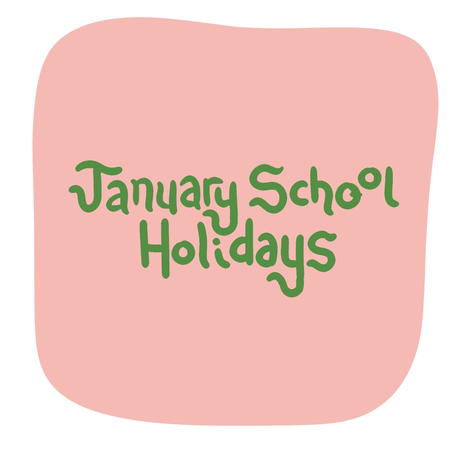 2021 January School Holiday Workshops