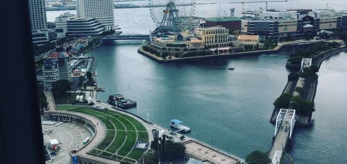 ニューオータニイン横浜 からの眺め