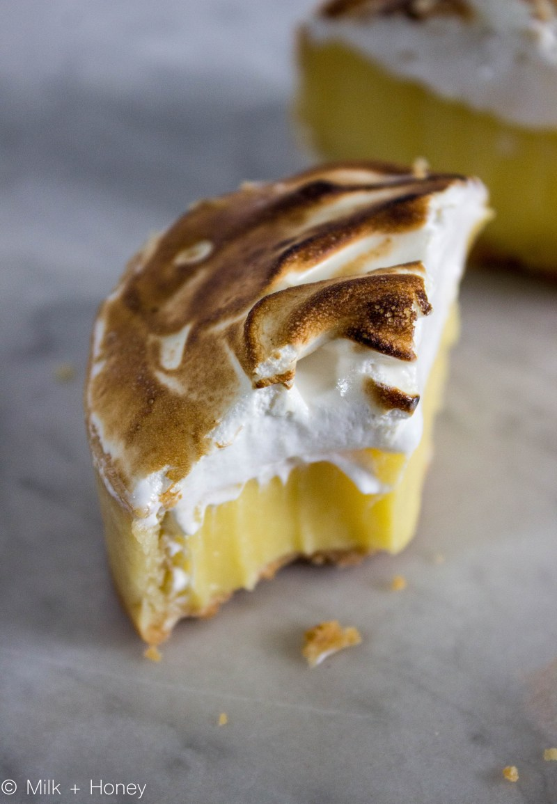 Lemon Meringue Pie. The tart, Post Bite.