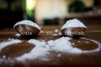 Baking soda baking powder
