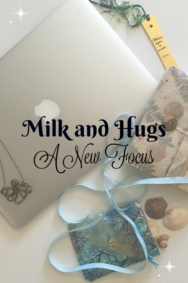 Milk and Hugs, a rebranded site focused on Parent Life and Breastfeeding