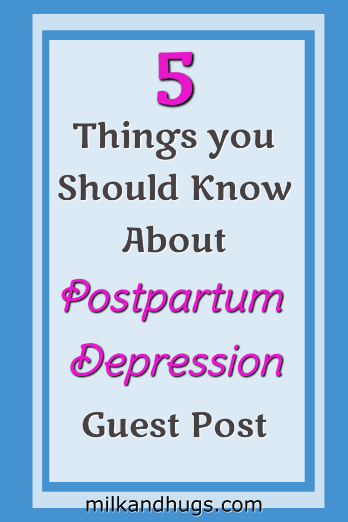 Postpartum Depression can strike any mother - even with not history of anxiety or depression. Know the signs - and when to get help. Guest Post