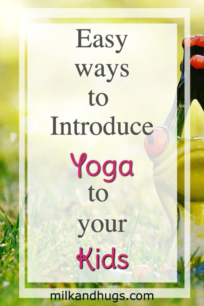 Easy ways to introduce Yoga to Kids - from videos to books, mats to supplies, there is something for everyone here.