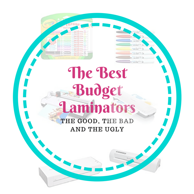 Looking for a Budget Laminator? Here's the lowdown on The Good, The Bad and The Ugly of these handy machines #kids #children #crafts