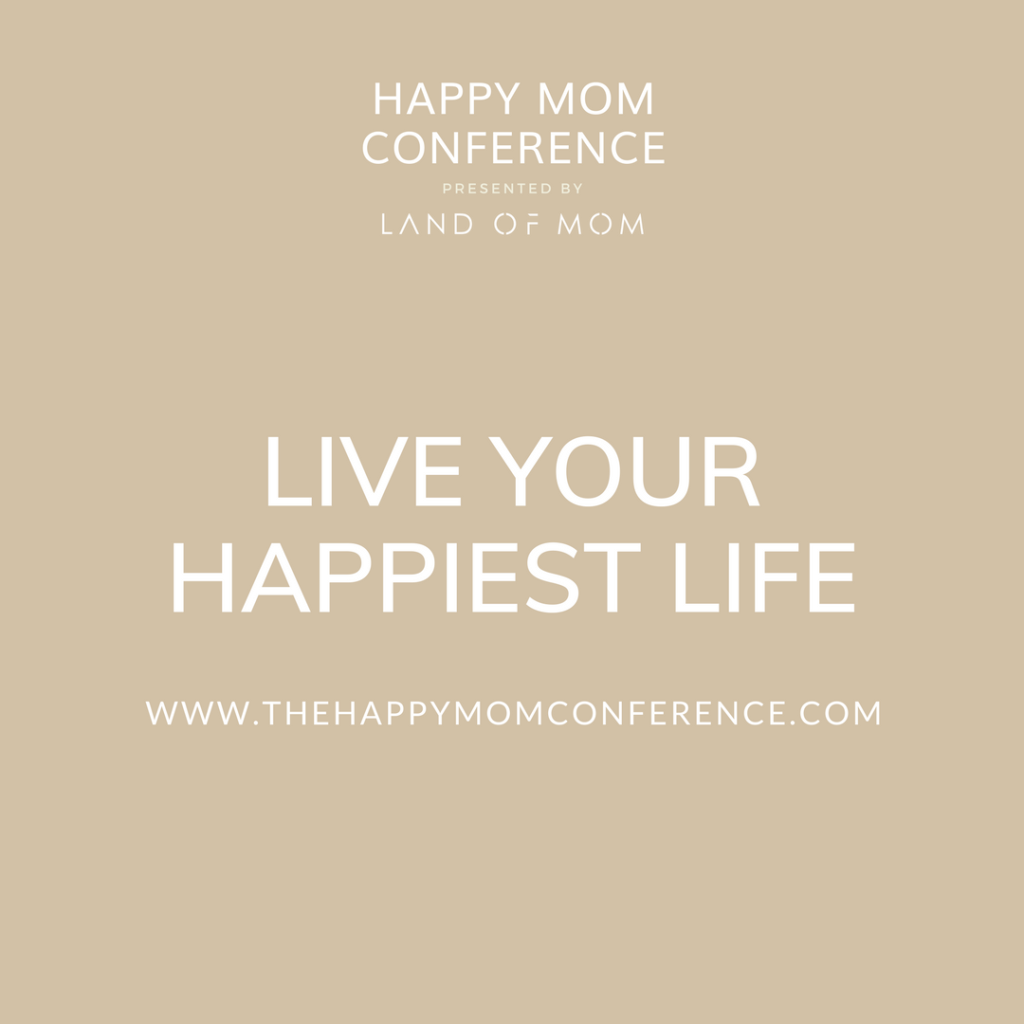 Have you picked up your tickets to The Happy Mom Conference yet? It's May 6th! They have given me a special Happy Mom Conference Discount Code JUST for my readers!