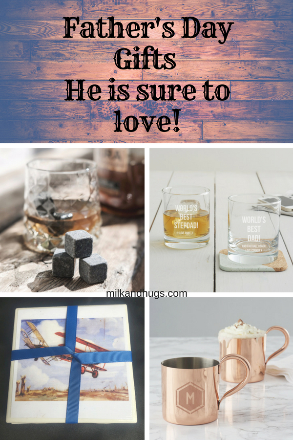 Little hands can make the biggest impact on Fathers Day with simple crafts - like a homemade tile coaster! It goes perfect with a personalized Whisky Tumbler! Find the step my step instructions here. #FathersDay #gifts #crafts