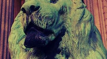 mount pleasant cemetery lion