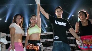 Mariana de Lira muay thai