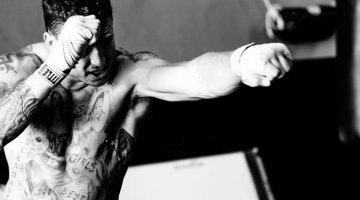 muay thai shadow boxing