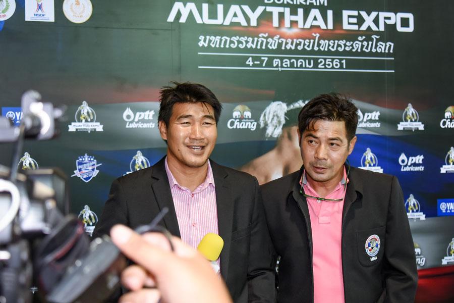Somrak Khamsing and Samart Payakaroon