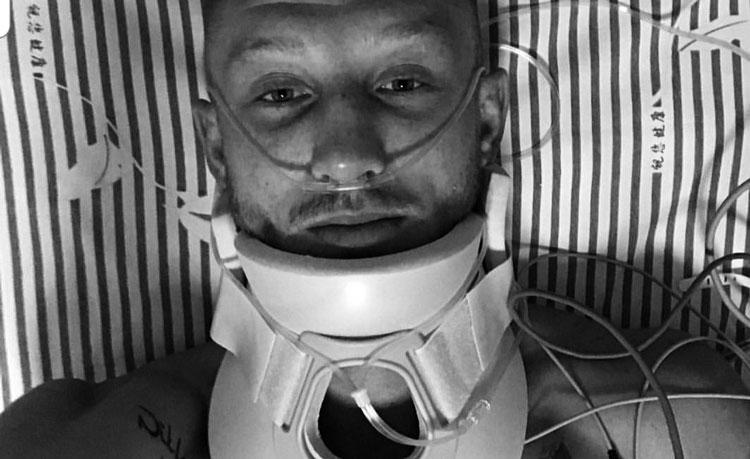 Pascal Schroth broken neck