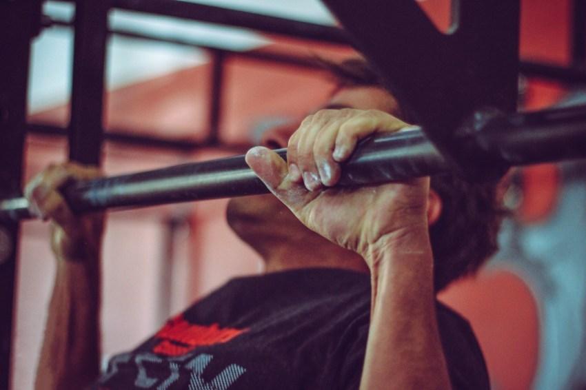 martial arts pullup