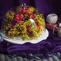 A Floral Cloche