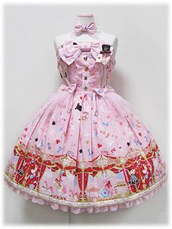 Angelic Pretty Star Night Theater Bustier JSK Pink