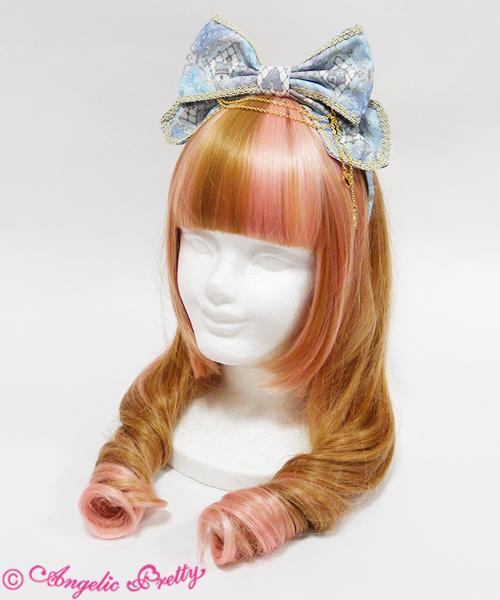 Angelic Pretty Harlequinade Head Bow Sax
