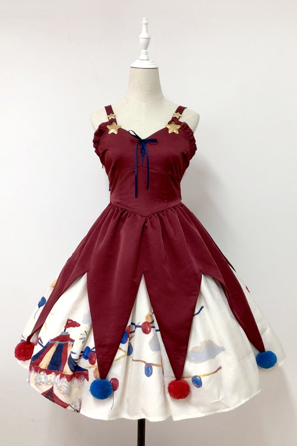 Lullaby Circus Circus JSK Red