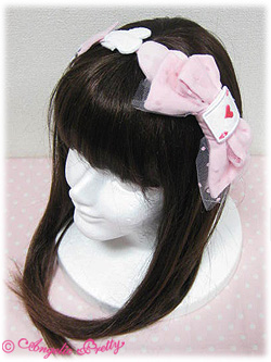 Angelic Pretty Marionette Girl Headbow Pink