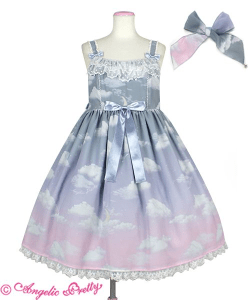 Angelic Pretty Misty Sky Melacholic Moon JSK