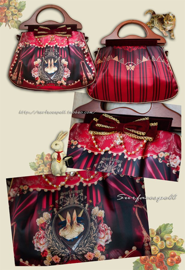 Surfacespell Freakshow Bag Red
