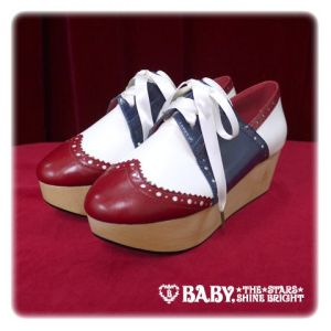 Alice and the Pirates Marina Wooden Sole Shoes