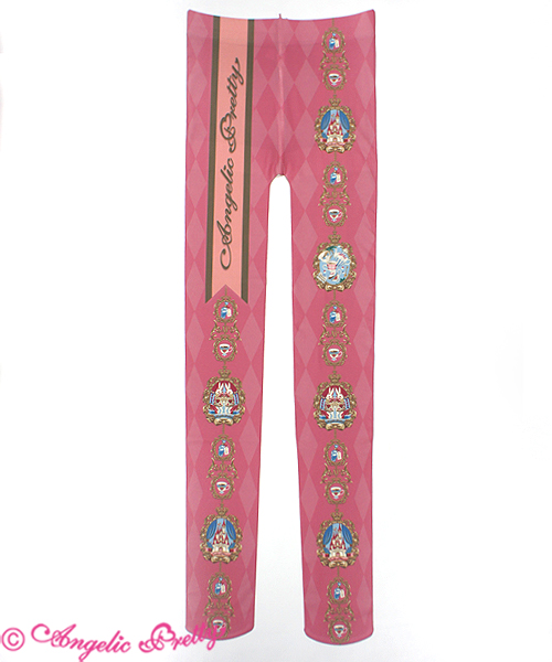 Angelic Pretty Memorial Wonder Tights Pink