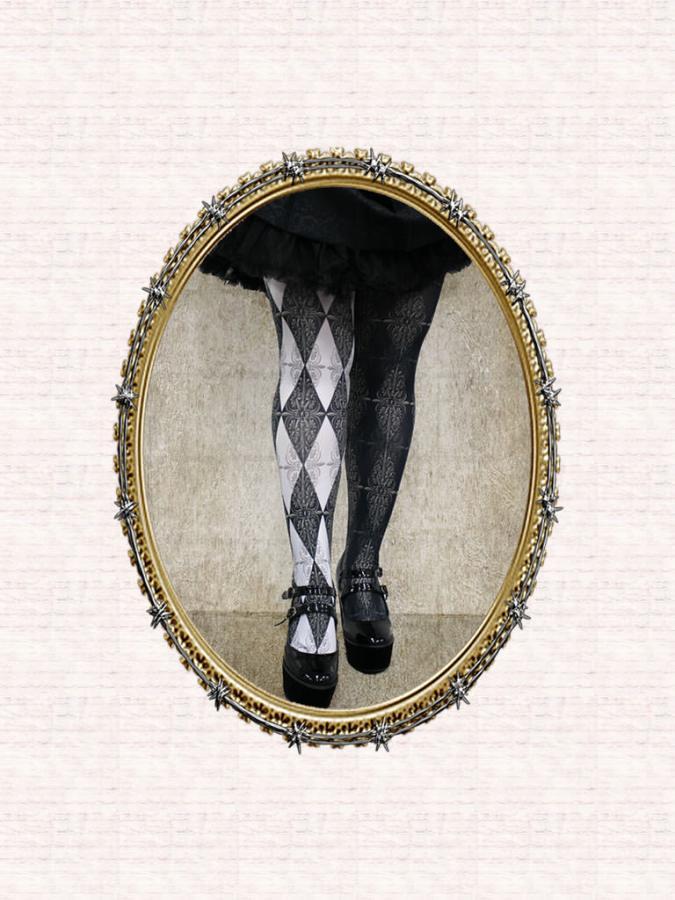 KOMACHI2266531DarkLolita Mirror+Mirror