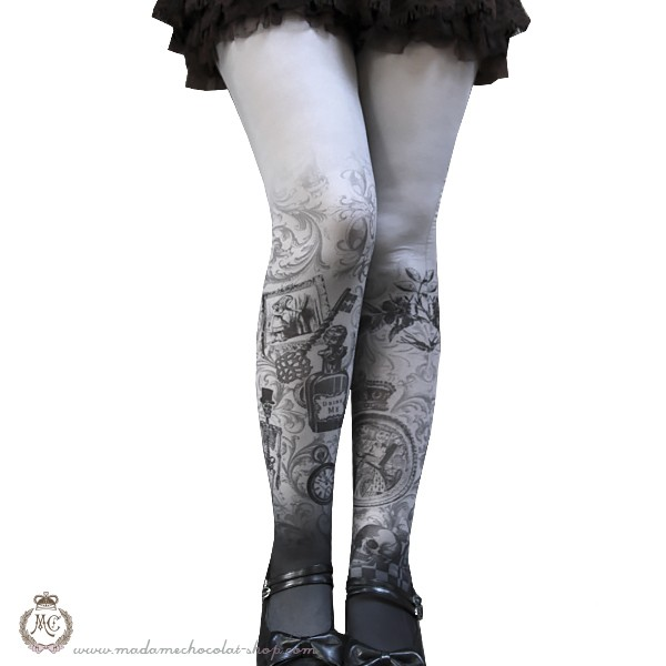 Madame Chocolat Gothic Alice Tights