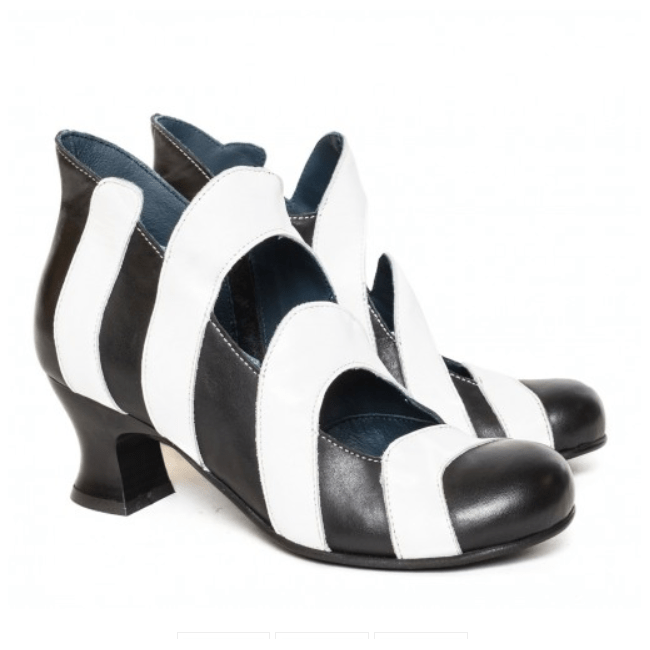 Vladi Shoes Rialto Nera Wonderland Collection Black and White