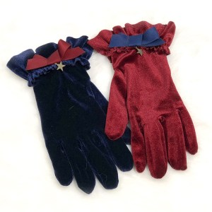 Lullaby Circus Circus Short Gloves